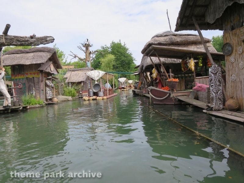 Jungle Rafts at Europa Park