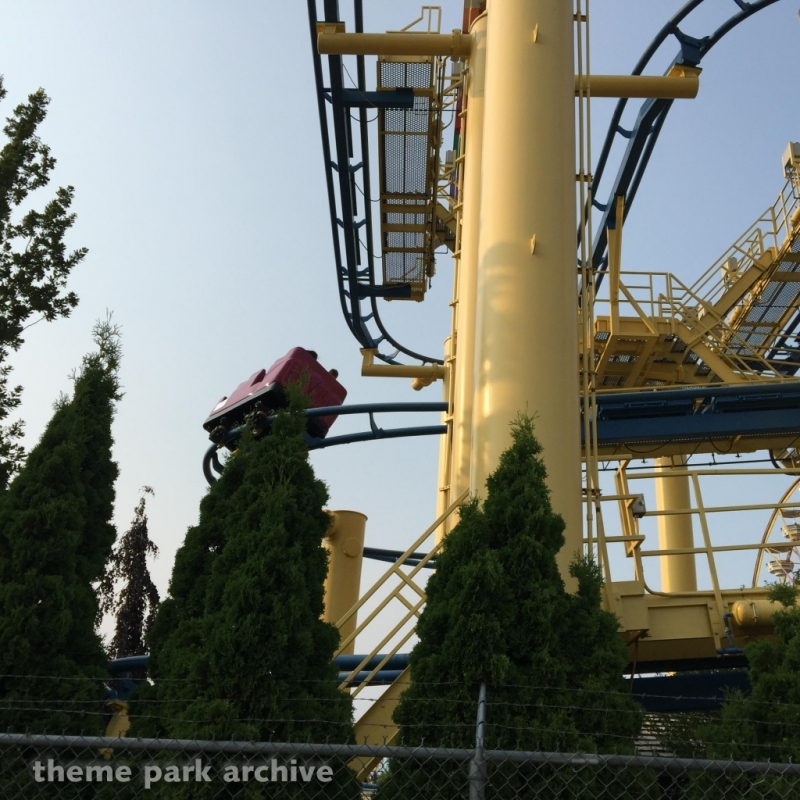 Mad Mouse at Michigan's Adventure