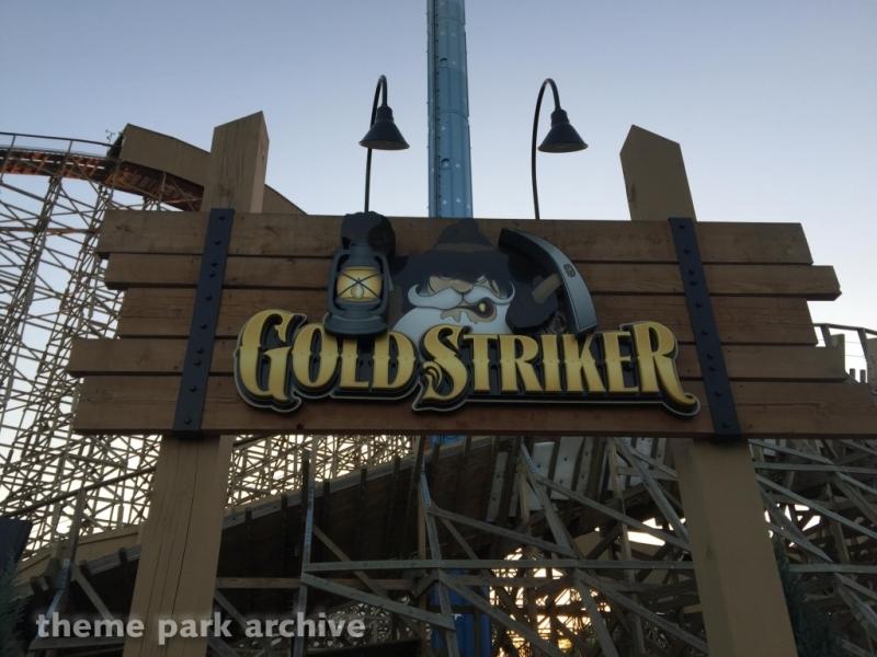 Gold Striker at California's Great America
