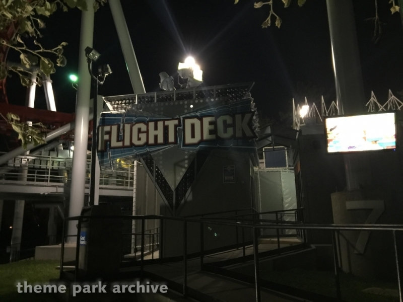 Flight Deck at California's Great America