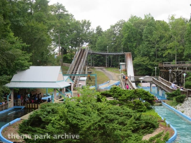 Splashwater Falls at Six Flags Over Georgia