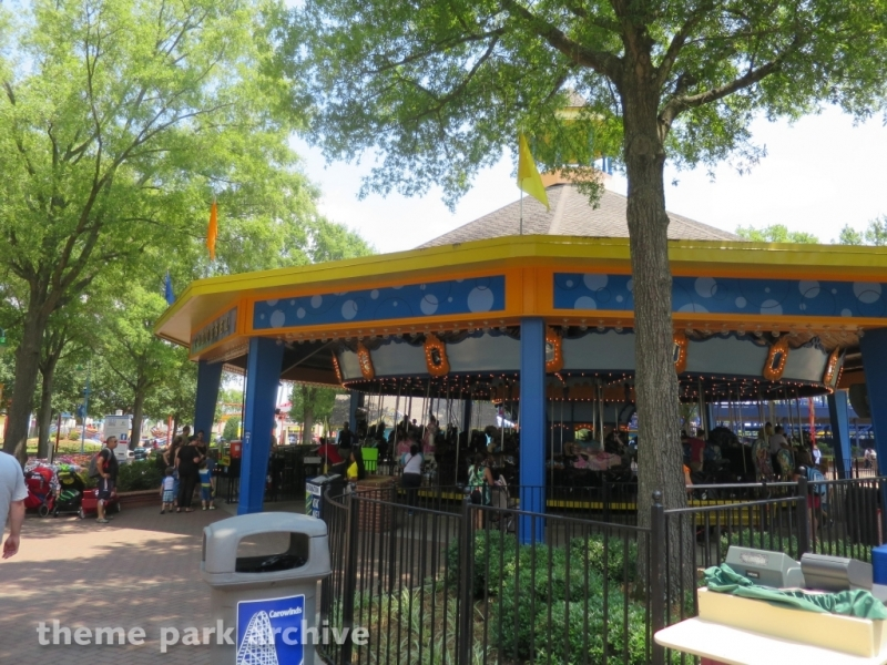 Character Carousel at Carowinds