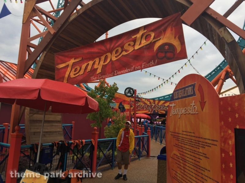 Tempesto at Busch Gardens Williamsburg