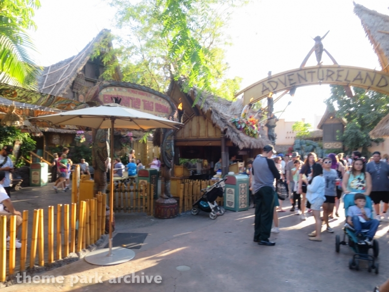 Enchanted Tiki Room at Disneyland