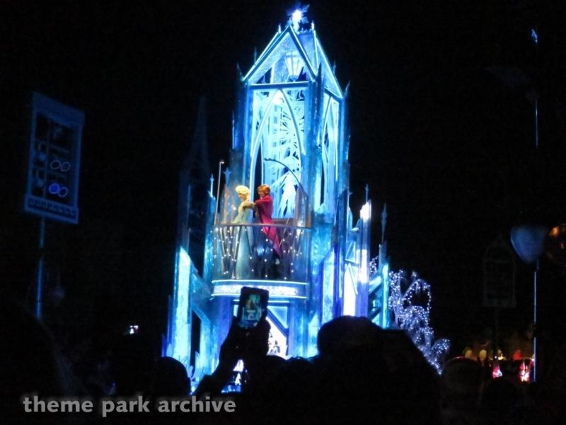 Paint the Night Parade at Disneyland