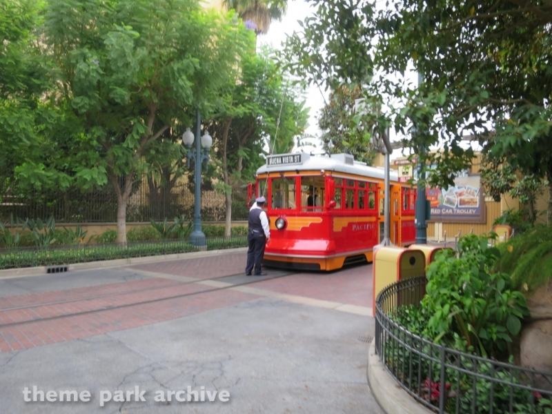 Red Car Trolley at Disney California Adventure