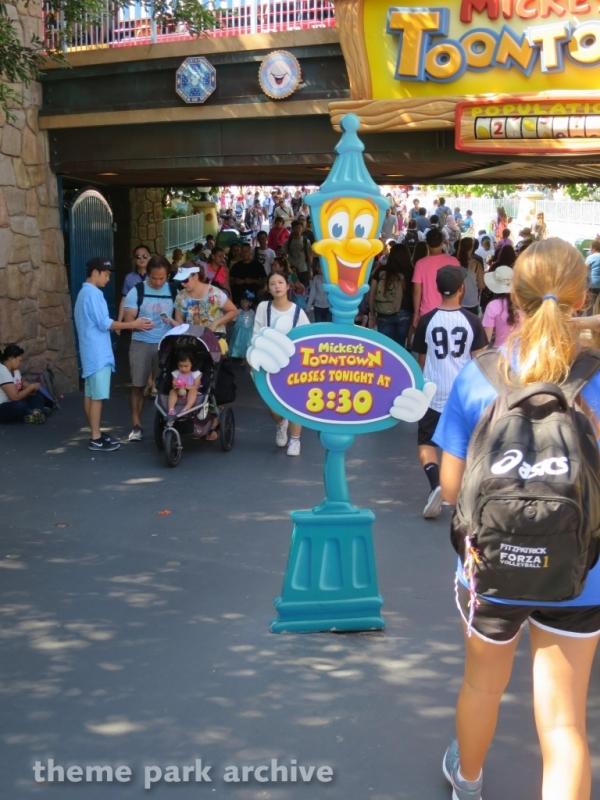 Mickey's Toontown at Disneyland