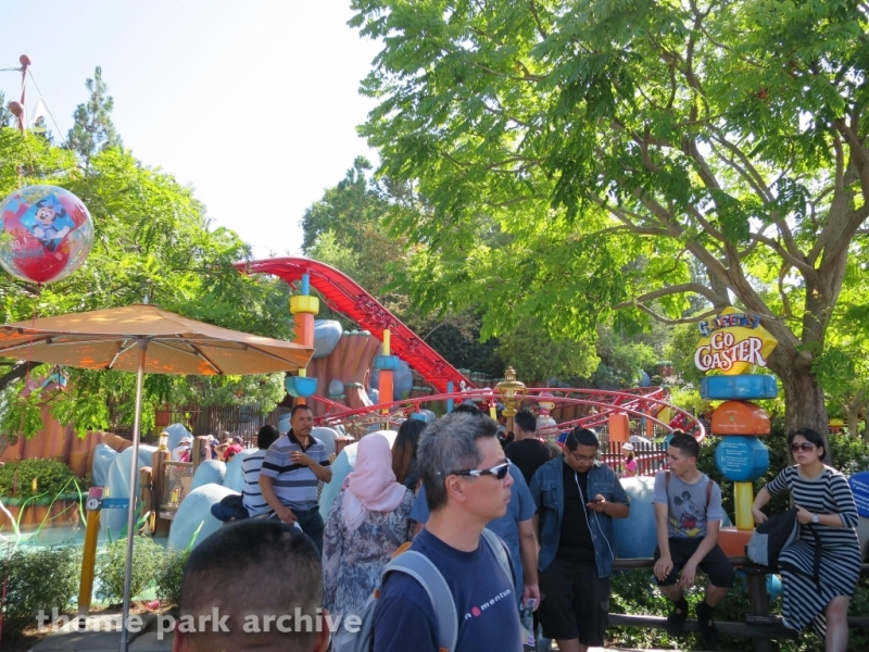 Gadget's Go Coaster at Disneyland