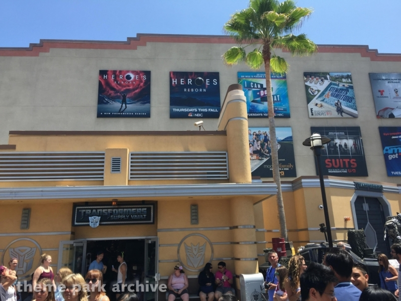 Transformers The Ride 4D at Universal Studios Hollywood