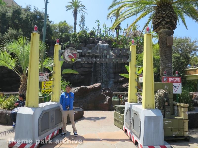 Raptor Encounter at Universal Studios Hollywood