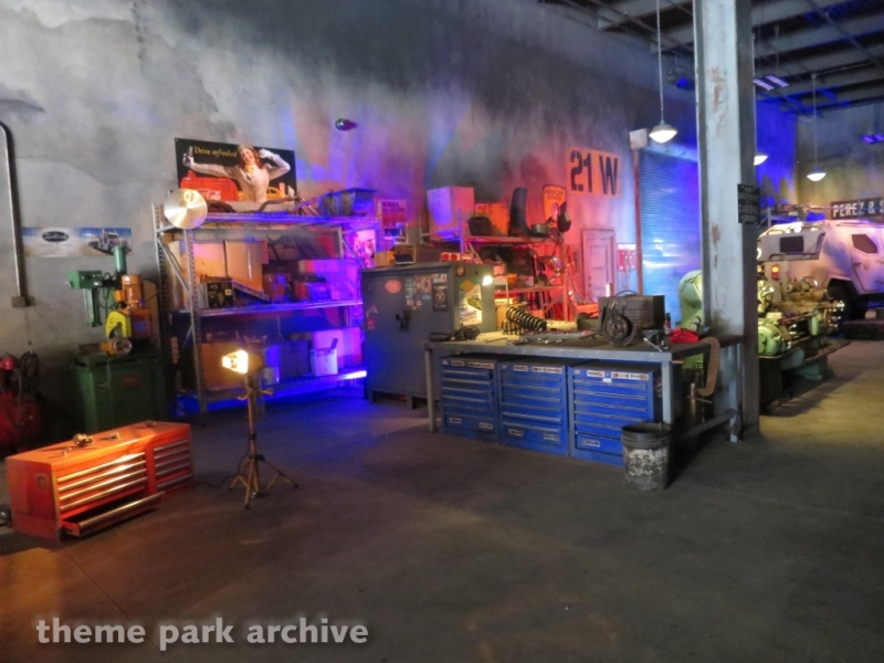 Fast and the Furious Supercharged at Universal Studios Hollywood