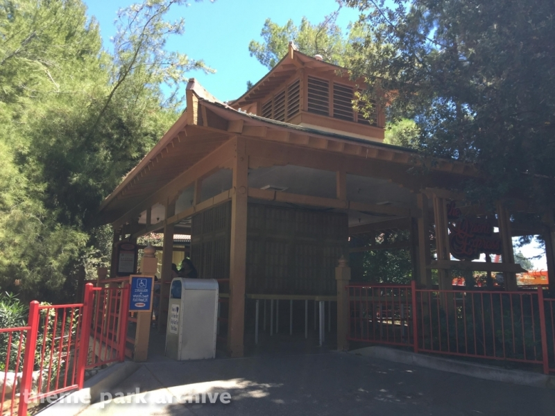 Ninja at Six Flags Magic Mountain