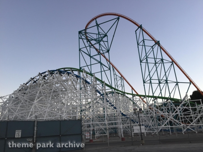 Twisted Colossus at Six Flags Magic Mountain