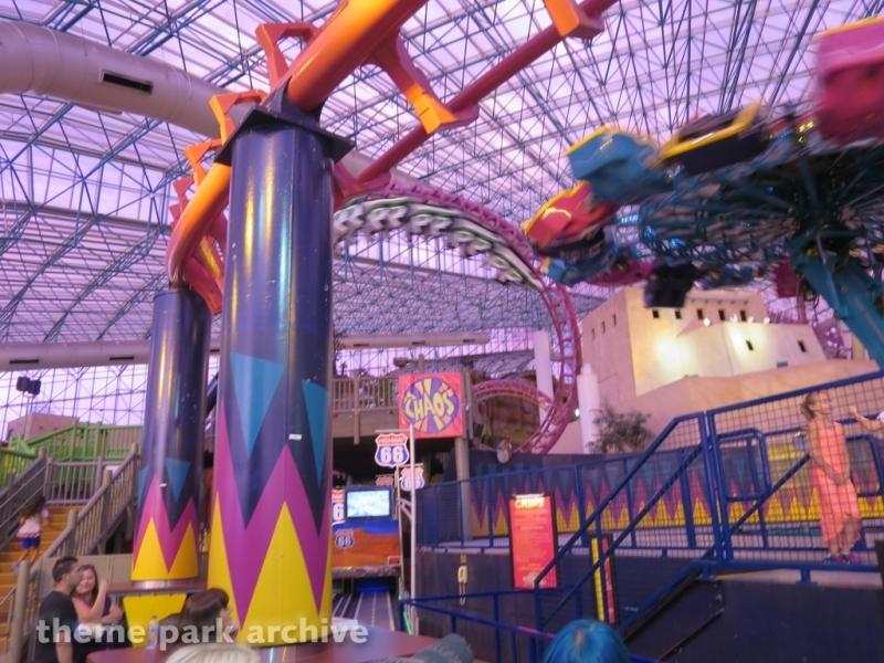 Canyon Blaster at Adventuredome