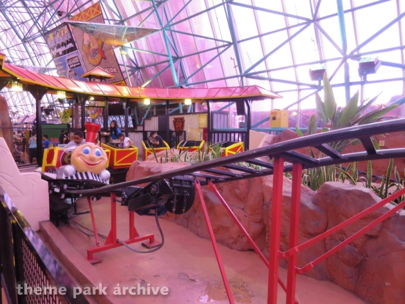 Miner Mike at Adventuredome