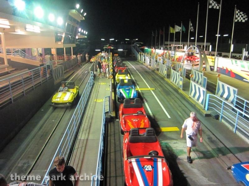 Tomorrowland Speedway at Magic Kingdom