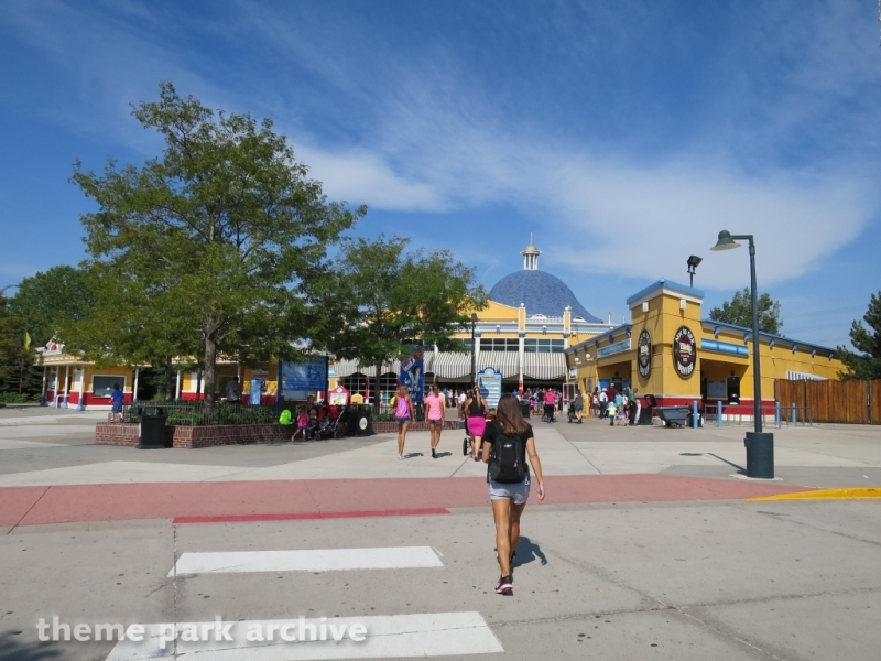 Entrance at Elitch Gardens