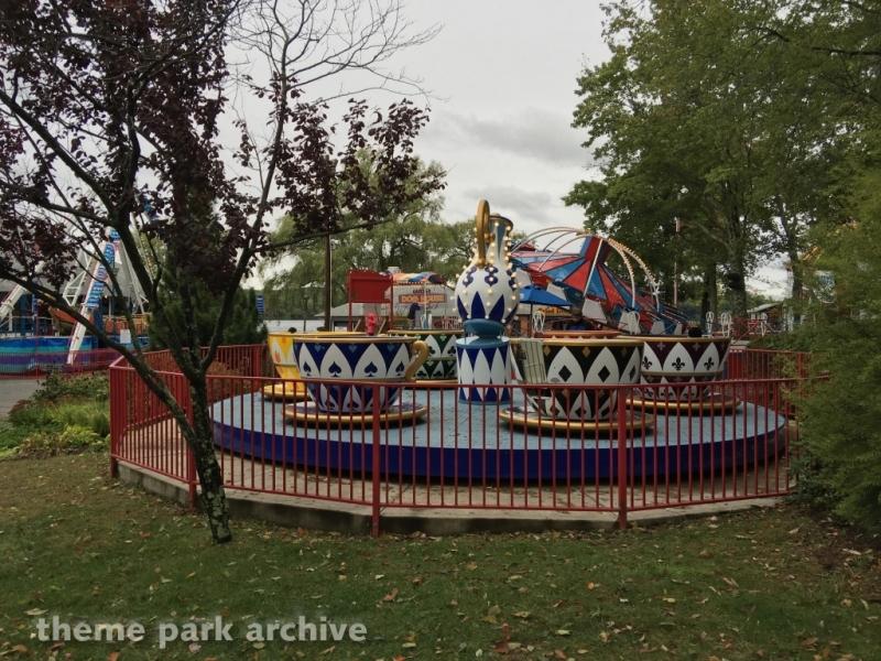 Tea Cups at Quassy Amusement Park