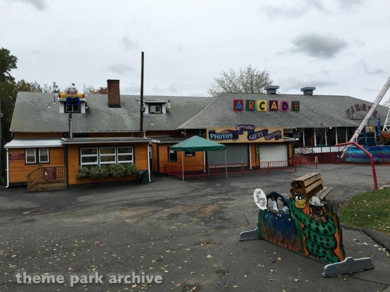 Arcade at Quassy Amusement Park