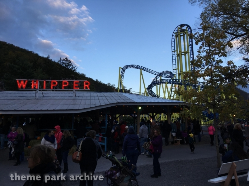 Whipper at Knoebels Amusement Resort