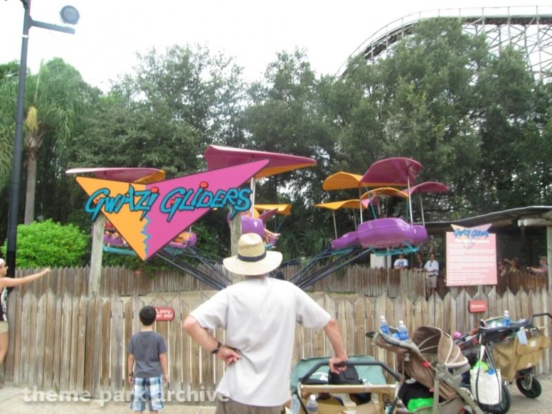 Gwazi Gliders at Busch Gardens Tampa