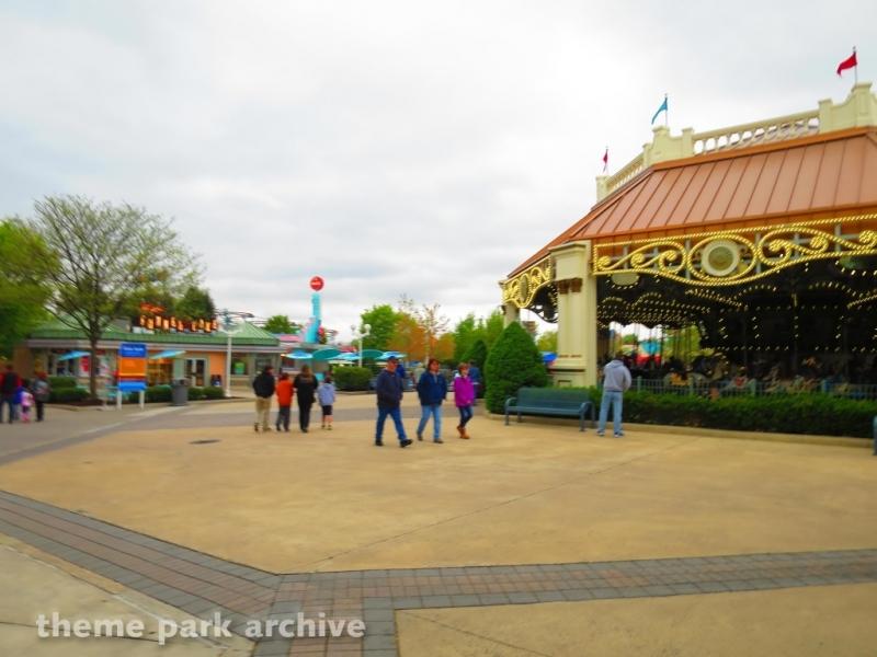 Antique Carousel at Dorney Park