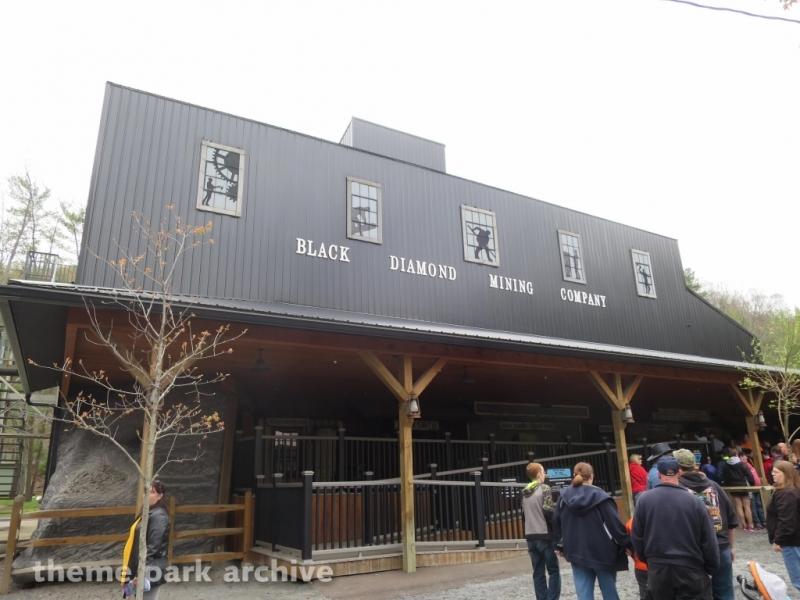 Black Diamond at Knoebels Amusement Resort