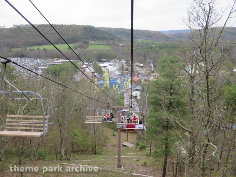 Scenic Skyway at Knoebels Amusement Resort