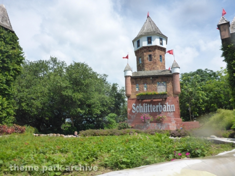 Hillside Tube Chute at Schlitterbahn New Braunfels