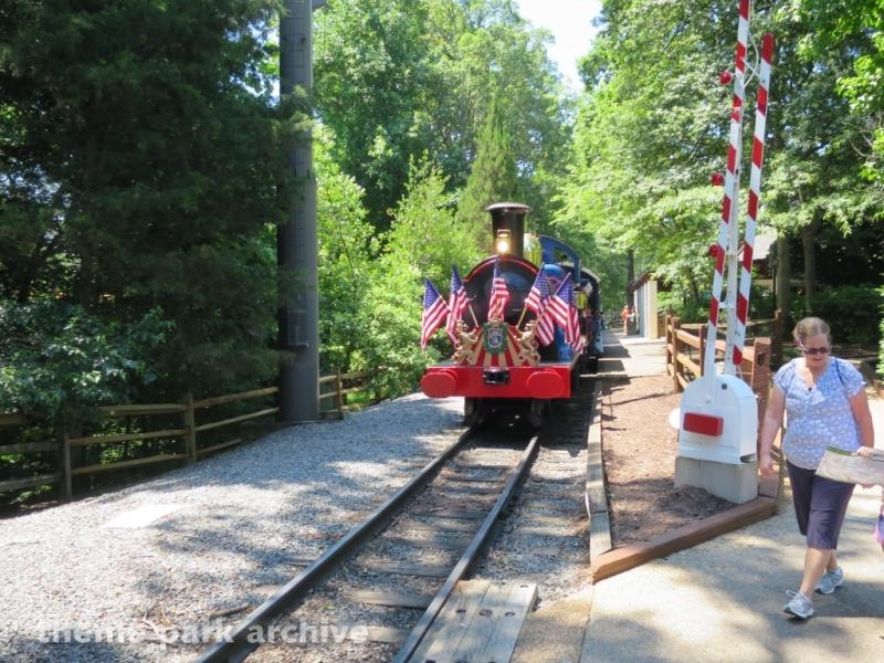 Busch Gardens Railway at Busch Gardens Williamsburg