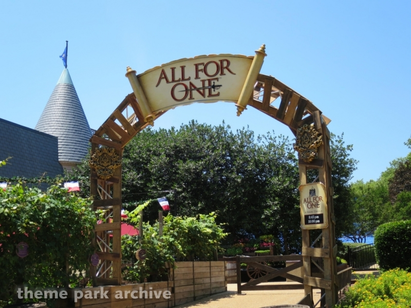 All For One at Busch Gardens Williamsburg