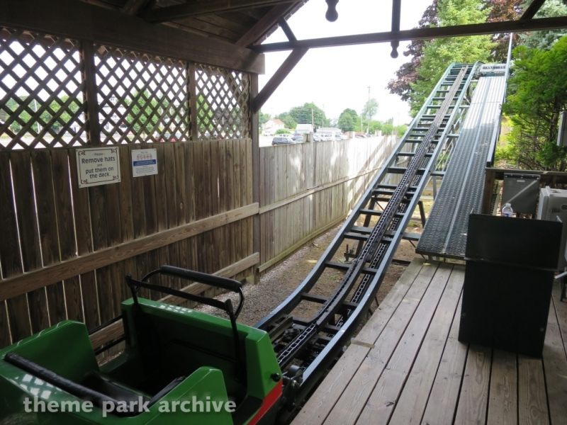 Bear Trax at Seabreeze Amusement Park