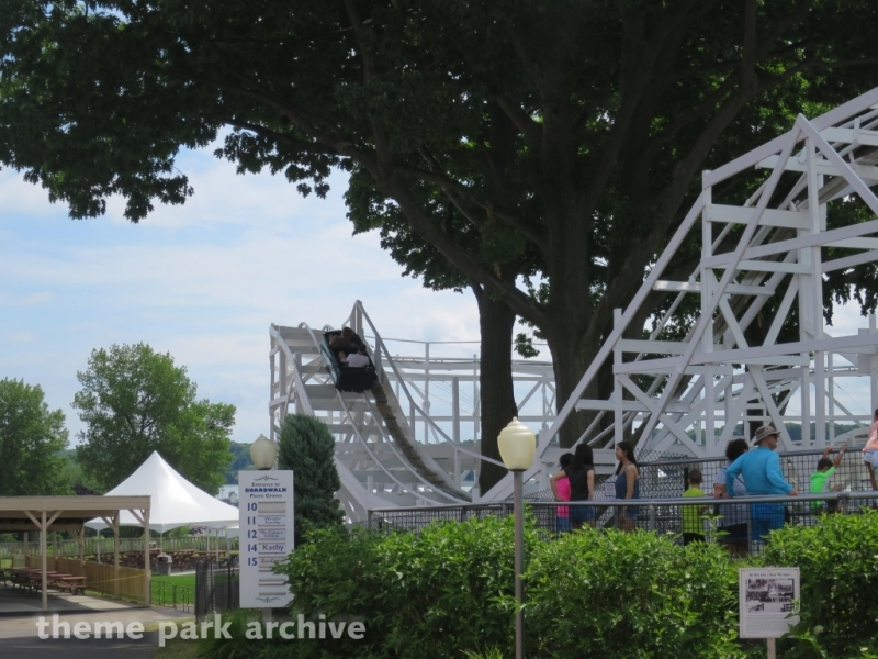 Bobsleds at Seabreeze Amusement Park
