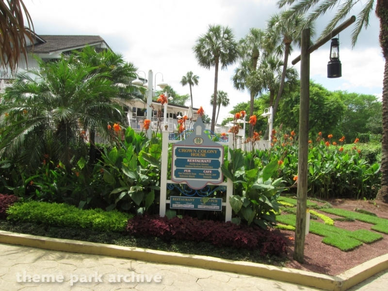 Crown Colony Restaurant at Busch Gardens Tampa