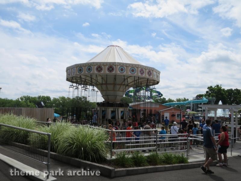 Wave Swinger at Seabreeze Amusement Park
