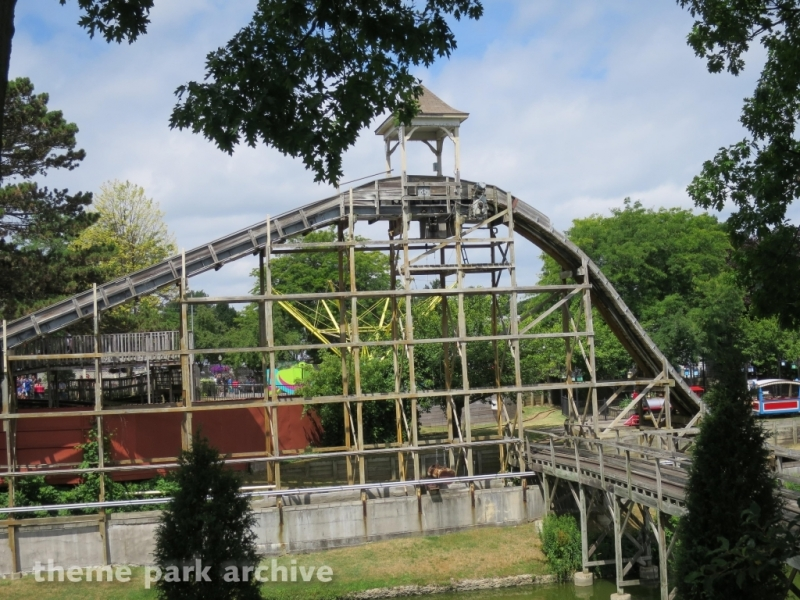 Log Flume at Seabreeze Amusement Park