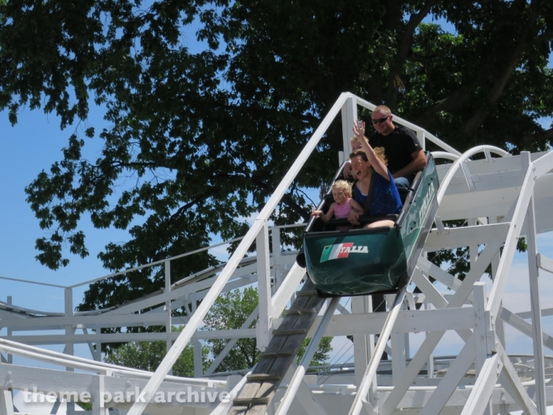 Bobsleds at Seabreeze Amusement Park