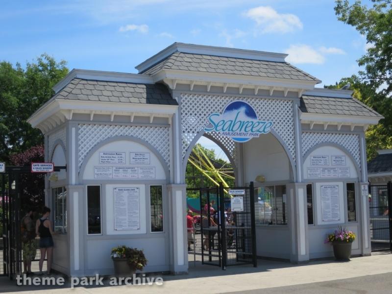 Entrance at Seabreeze Amusement Park