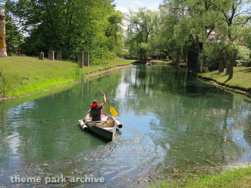 Canoes at Fantasy Island