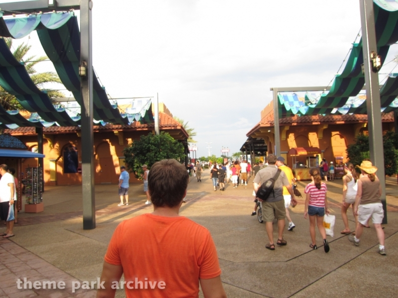 Entrance   Exit at Busch Gardens Tampa