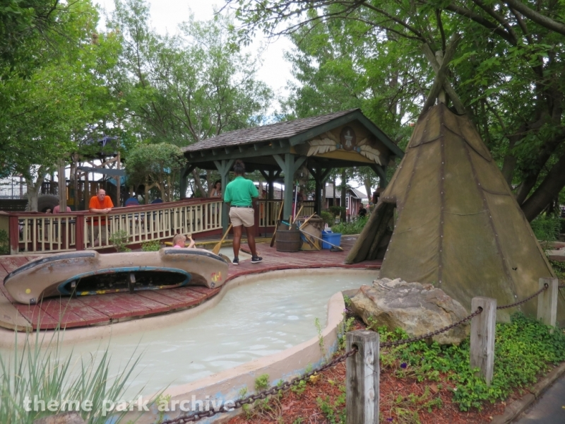 Indian Canoes at Frontier City