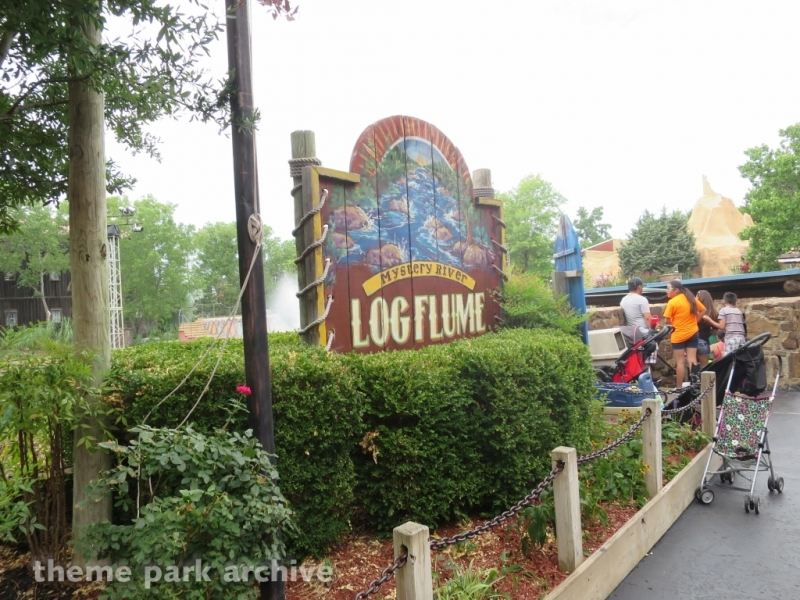 Mystery River Log Flume at Frontier City