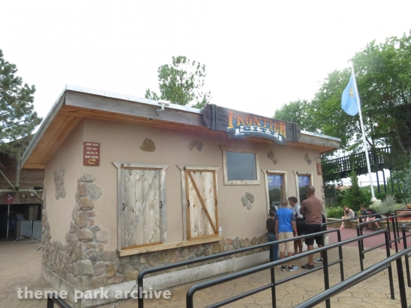 Entrance at Frontier City