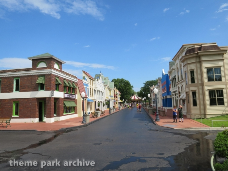 Main Street at Adventureland