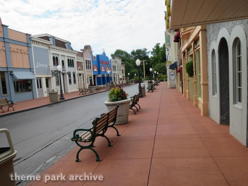 Main Street at Adventureland