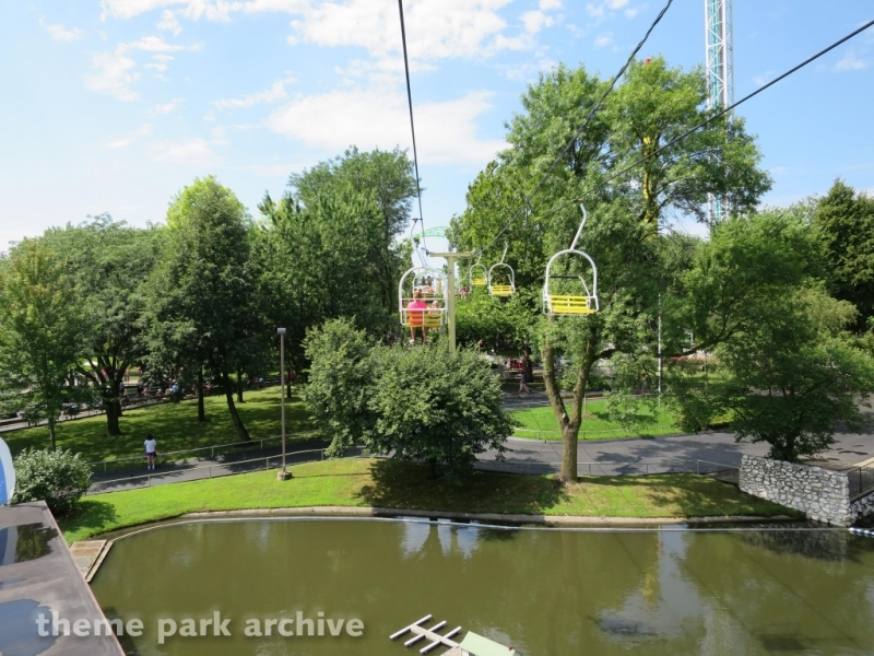 Sky Ride at Adventureland