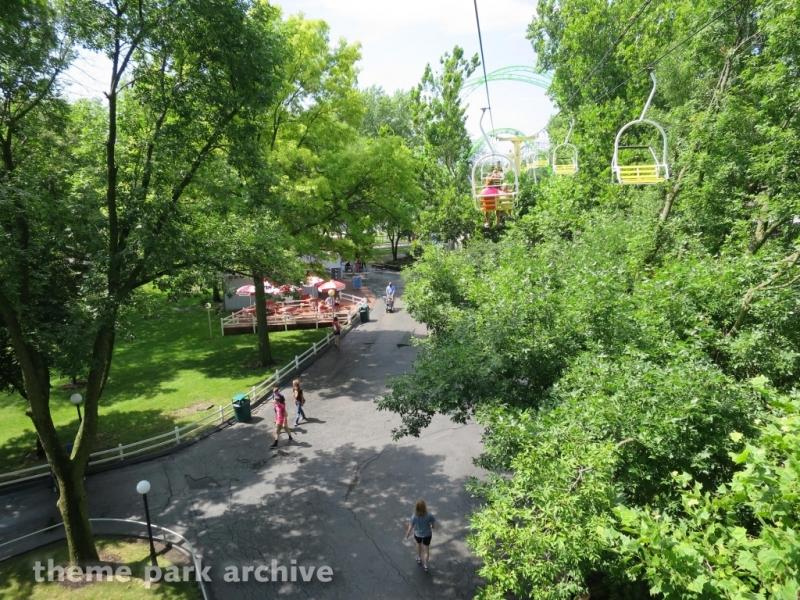 Sky Ride at Adventureland