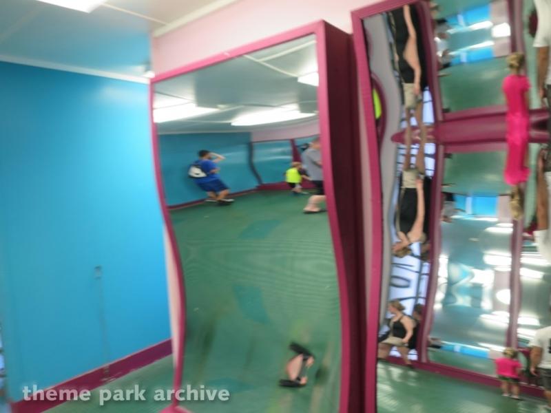 Mirror Maze at Adventureland