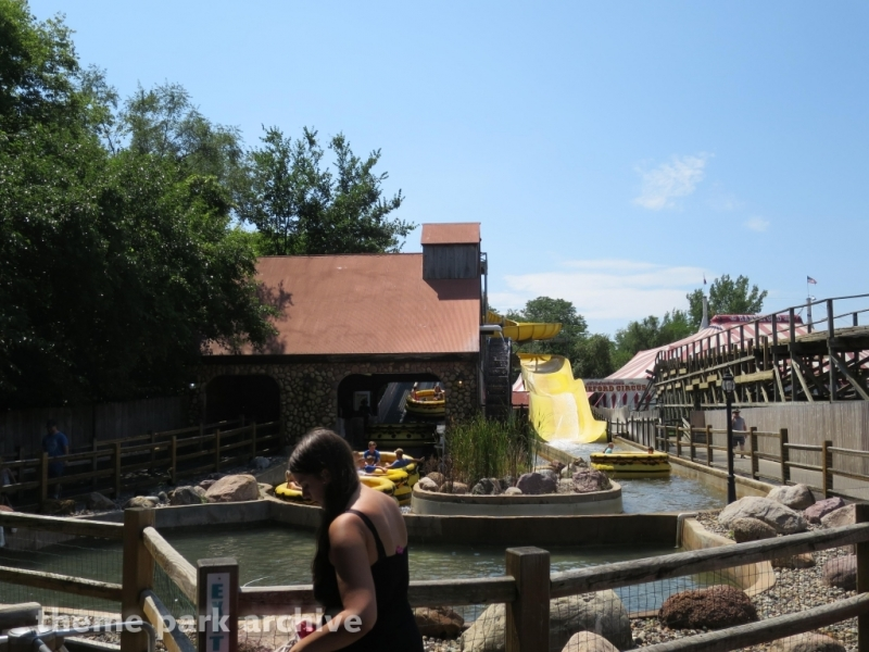Sawmill Splash at Adventureland