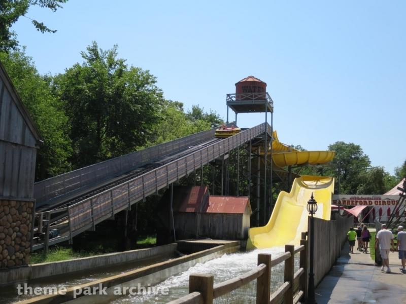 Sawmill Splash at Adventureland